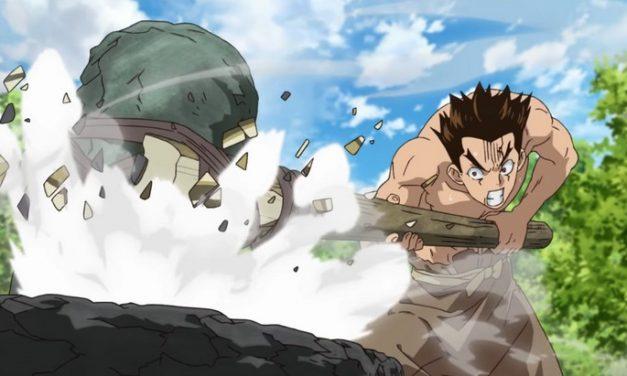 Après le manga, voici l'animé Dr. Stone avec deux trailers !