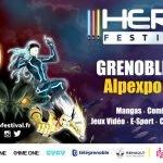 HeroFestival Grenoble : le festival de la Pop culture revient dans les Alpes les 6 et 7 avril