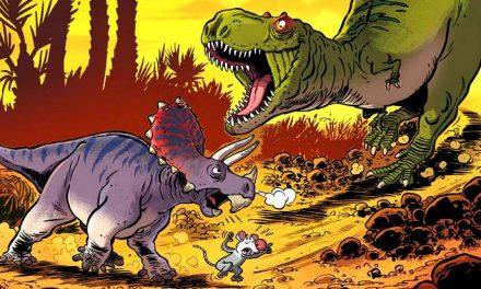 La BD du week-end #68 : Les dinosaures en BD (T5), l'encyclo des dinos