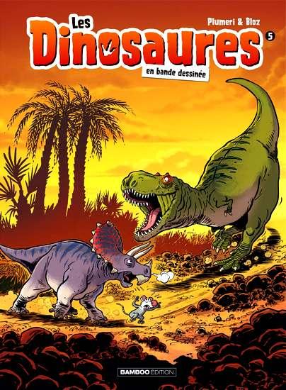 les dinosaures en bd 5