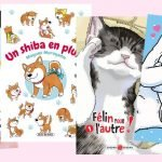 4 mangas avec nos amis les animaux : chat, shiba, lapin ou ours polaire !