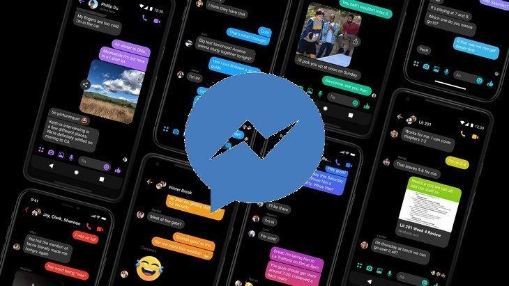 Tuto Messenger  comment activer le mode sombre