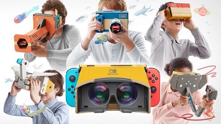 Nintendo Labo kit VR : la réalité virtuelle dans la Switch !