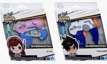 Des nouveaux jeux et jouets Overwatch chez Hasbro dont un Monopoly !