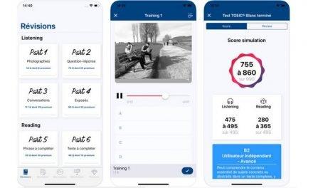 Prépare le TOEIC avec l'application « Test TOEIC : contenu officiel » (iOS et Android)
