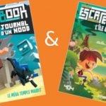 Deux Escape Books sur Minecraft et les pirates aux Éditions 404