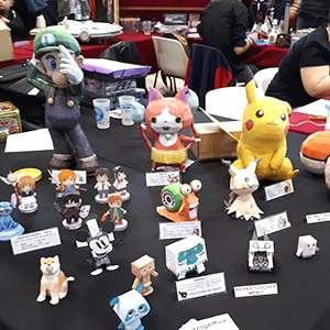 maquettes et papercraft