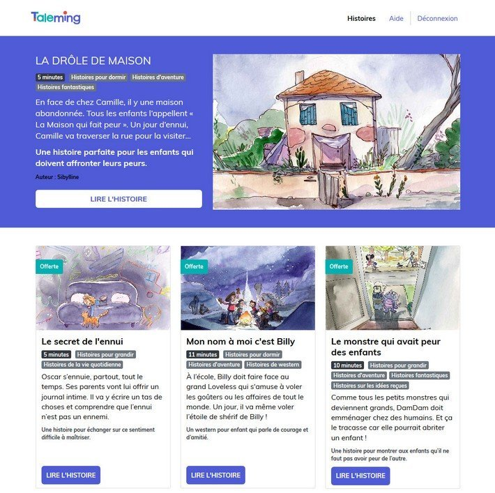 Taleming - lecture -homepage