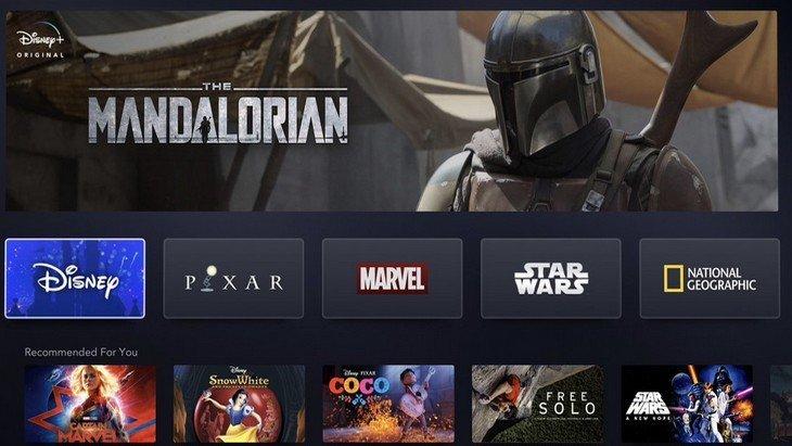 Découvre Disney+, le nouveau service de streaming pour toute la famille