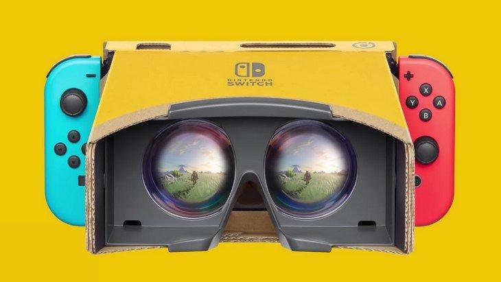 Nintendo Switch : Super Mario Odyssey et Zelda Breath of the Wild en réalité virtuelle !