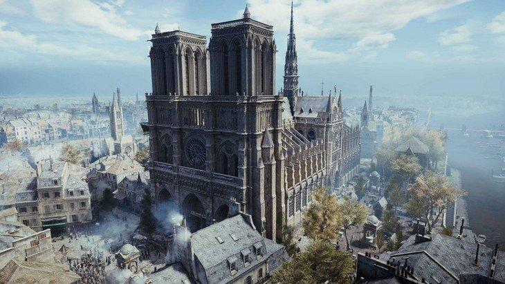 Découvre Notre Dame de Paris grâce à Assassin's Creed Unity sur PC (gratuit !)