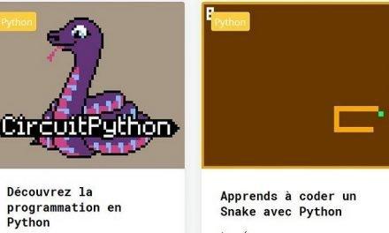Programmation : découvre le Python grâce à Gamebuino, une console de jeu retrogaming