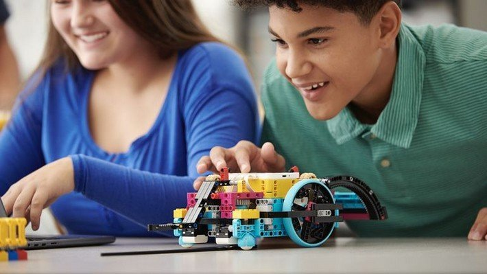 spike prime kit lego robot
