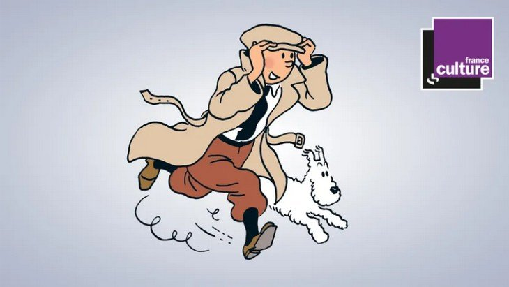 3 aventures de Tintin en podcast sur France Culture