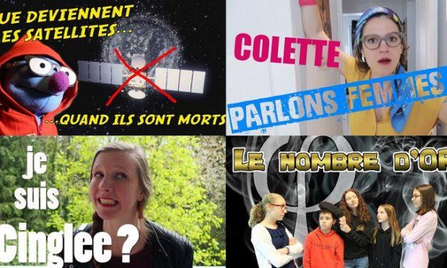 Apprendre avec YouTube #129 : Poisson Fécond, Scienticfiz, Miss Book, Norbert explique nous