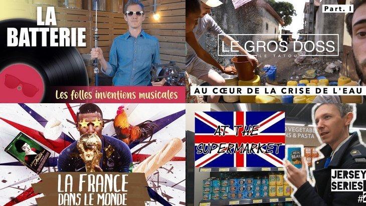 Apprendre avec YouTube #128 : Dr Nozman, AstronoGeek, Le Tatou, Monsieur Bidouille…