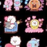 Messenger lance de nouveaux stickers BT21 à partager avec ses amis