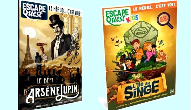 Escape Quest : le nouveau magazine de jeux d'aventures
