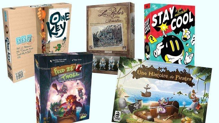 5 nouveaux jeux de société #7 : Feed Ze Troll, One Key, Stay Cool, Les Poilus…