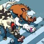 La BD du week-end #78 : Les cinq sans maîtres (T1), quand la nature reprend ses droits…