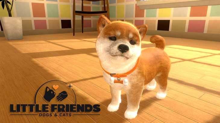 Little Friends : Dogs & Cats disponible en version physique pour Nintendo Switch