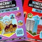Minecraft : deux guides chez 404 Éditions pour construire des villes et des parcs d'attraction