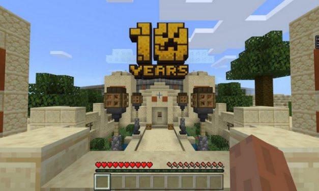 Minecraft : une carte spéciale et des soldes pour son anniversaire