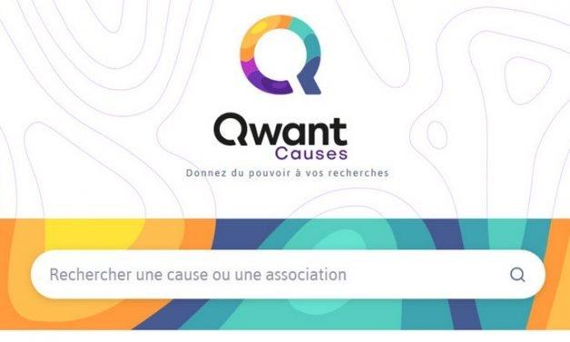 Avec Qwant Causes, surfer sur le web permet de faire une bonne action