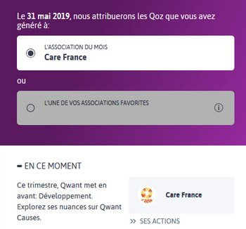 Qwant Causes
