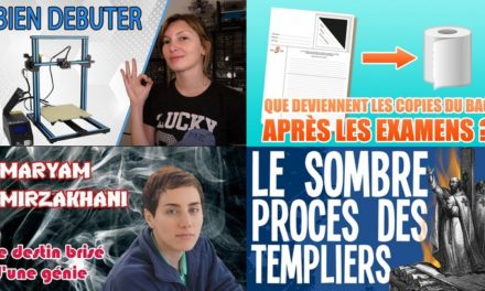 Apprendre avec YouTube #134 : Nota Bene, Scienticfiz, Heliox, Le Tatou, Scilabus…