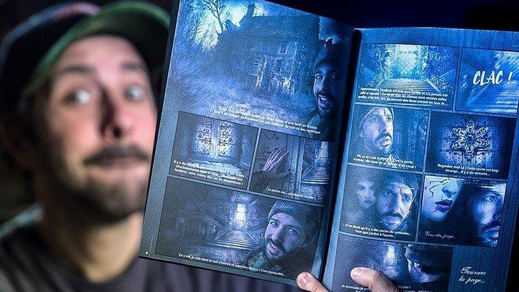 Escape Book : «Cauchemar en Ecosse», le défi du YouTubeur Le Grand JD