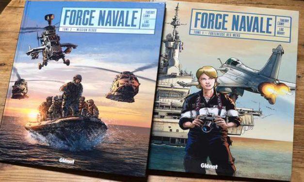 La BD du week-end #82 : Force Navale (T1 et T2), Reporter d'Image dans la Marine Nationale !