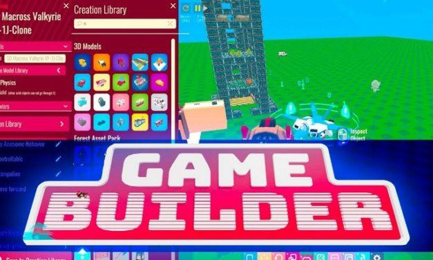 Avec Game Builder, tu peux créer un jeu vidéo sans savoir coder !