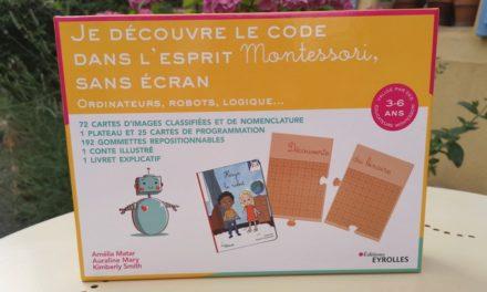 «Je découvre le code dans l'esprit Montessori, sans écran» : un coffret pour les 3-6 ans