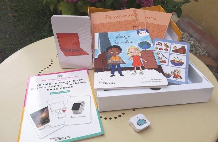 Je découvre le code dans l'esprit Montessori, sans écran