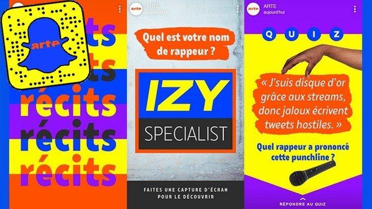 Arte lance FAQ, une émission interactive et ludique sur Snapchat Discover