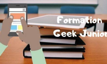 Découvrez les formations et animations Geek Junior (bibliothèques, lycées, collèges)