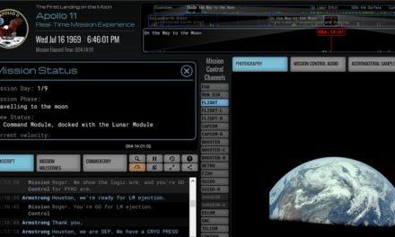 Apollo 11 : la NASA sort un site génial pour revivre en temps réel la mission !