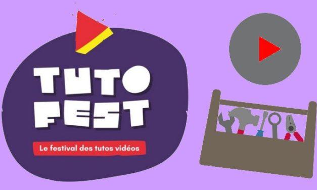 Présente ton tuto au concours de Tutofest, le festival national des tutos vidéo
