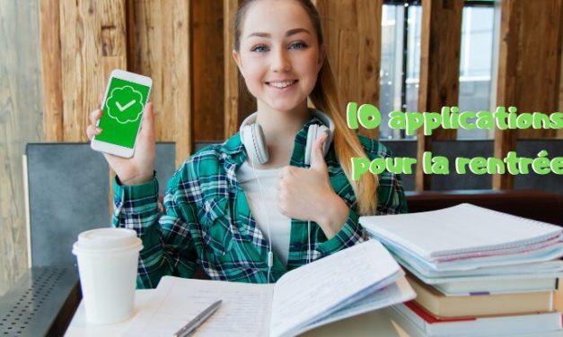 Rentrée scolaire : 10 applications pour le collège et le lycée
