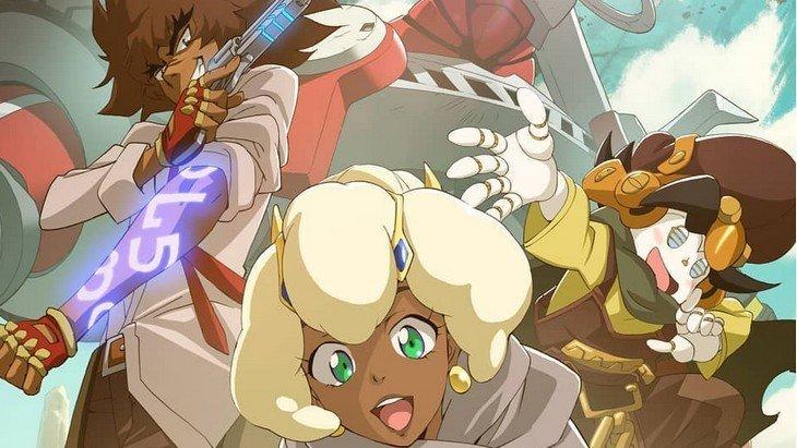 Cannon Busters, le nouvel anime Netflix complètement geek !