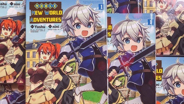 Sortie Manga Noble New World Adventures Une Histoire 100