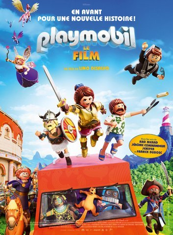 affiche film Playmobil