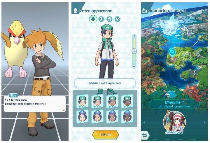 Pokémon Master mobile