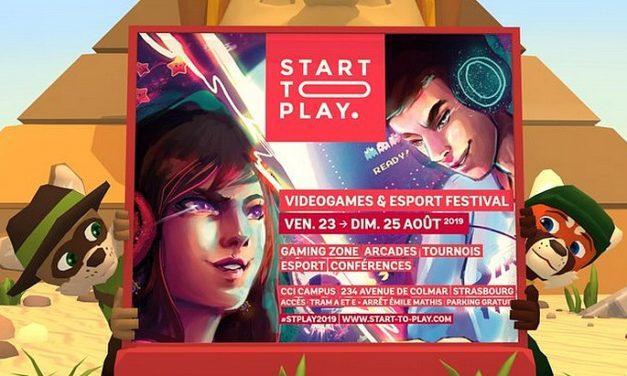 START TO PLAY, le festival du jeu vidéo de Strasbourg du 23 au 25 août