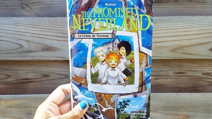 Sortie de « La Lettre de Norman », le roman de The Promised Neverland