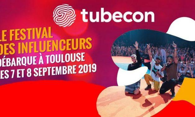 Tubecon, le festival des Youtubeurs et influenceurs débarque à Toulouse les 7 et 8 septembre