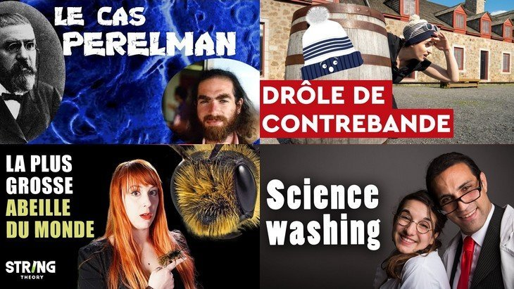 Apprendre avec YouTube #146 : Les petits aventuriers, String Theory, Nota Bene, Startdust, JVH, Scienticfiz