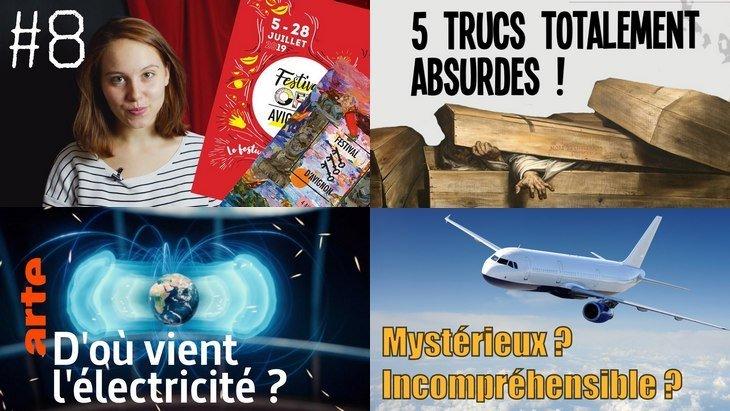 Apprendre avec YouTube #144 : Science étonnante, Val Och, Trash, Nota Bene, Arte…
