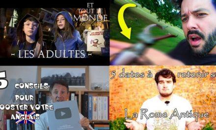 Apprendre avec YouTube #145 : Le Grand JD, Rêves d'espace, Cyrus North, Dimension…
